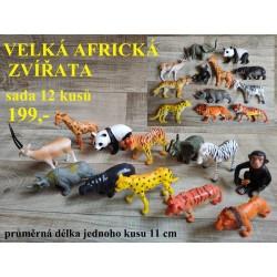 AFRICKÁ ZVÍŘATA VELKÁ