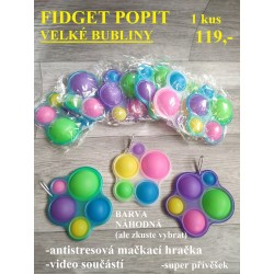 FIDGET POPIT- VELKÉ BUBLINY