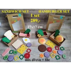 HAMBURGER SET / SANDWICH SET
