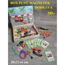 BOX PLNÝ MAGNETEK- DOPRAVA